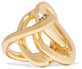 Jennifer Fisher Chaos Gold-plated Pinky Ring - 4