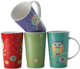 Maxwell & Williams Hoot Hoot Set of 4 Mugs