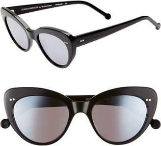 Colors In Optics Lolita 51mm Gradient Lens Cat Eye Sunglasses