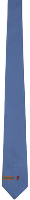 Burberry Blue Heritage Stripe Tie