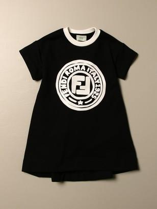 Fendi Dress With Roma Logo