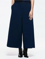 Calvin Klein Platinum Jersey Wide Leg Pants