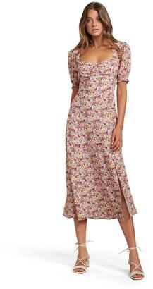 Forever New Nadine Short Sleeve Midi Dress