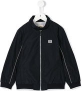 Armani Junior zipped jacket - kids - Polyester/Cotton - 4 yrs
