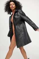 Thumbnail for your product : Deadwood Kara Recycled Leather Coat