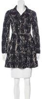 Alice + Olivia Frayed Short Coat