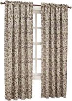 Sun Zero Sun ZeroTM Emory Printed Folliage Room-Darkening Rod-Pocket Curtain Panel