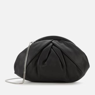 Nunoo Women's Saki Smooth Cross Body Bag - Black