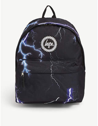 Hype Lightning canvas backpack