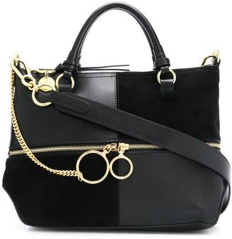 See by Chloe patchwork tote bag