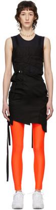 Junya Watanabe Black Patchwork Trench Dress
