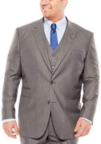 Jf J.Ferrar JF Sharkskin Suit Jacket - Big & Tall