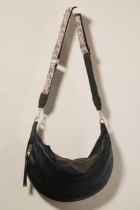 Urban Originals Alexis Slouchy Crossbody Bag By in Black Size ALL