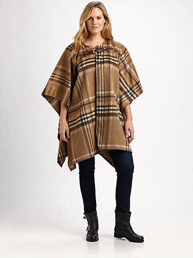 MICHAEL Michael Kors MICHAEL MICHAEL KORS, Salon Z Plaid Blanket Coat