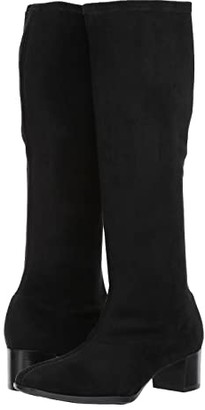 Munro American Newbury (Black Stretch Fabric) Women's Pull-on Boots