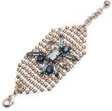Lulu Frost Cité Wide Link Cuff Bracelet