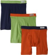 Fruit of the Loom Little Boys' Color Boxer Brief (Pack of 3)