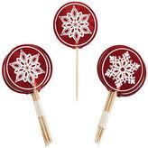 Martha Stewart Crafts Food Picks 18/piece - Cottage Christmas