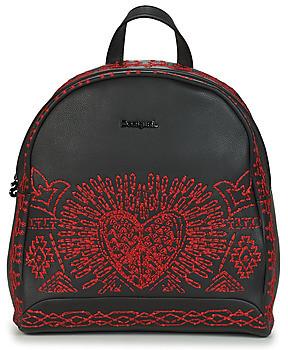Desigual BEATING HEART VENICE MINI women's Backpack in Black
