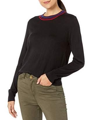 Splendid Women's Cashmere Blend Long Sleeve Pullover Sweater