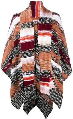 Missoni Chunky Knit Poncho