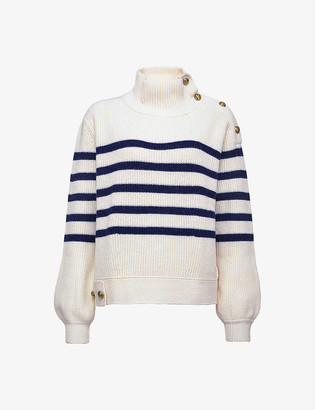 Pinko Tuvalo wool striped jumper