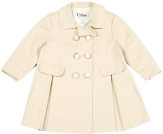 Chloé Beige Cotton Leather jackets