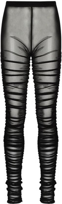 Supriya Lele Sheer Draped Leggings