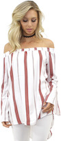 Faithfull The Brand Faithful the Brand Marfa Top in London Stripe