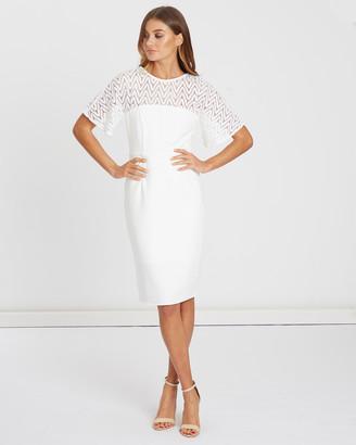 Chancery Avery Lace Midi Dress
