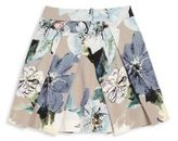 Milly Minis Toddler's & Little Girl's Pleated Floral-Print Skirt