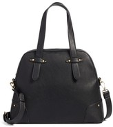 Sole Society Christie Faux Leather Satchel - Black
