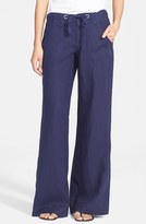 Joie Women's Wide Leg Linen Pants