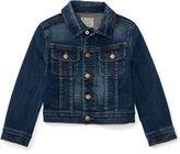 Ralph Lauren Knit Denim Trucker Jacket