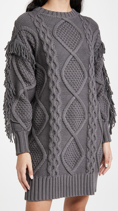 Line & Dot Jasper Fringe Dress