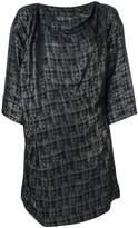 Vivienne Westwood ruched slash neck dress