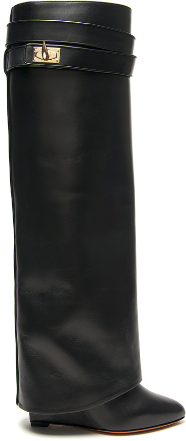 Givenchy Knee-High Wedge Boot