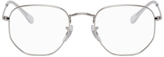 Ray-Ban Silver Hexagonal Icons Glasses