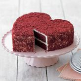 Perfect Ending's Heart Red Velvet Cake