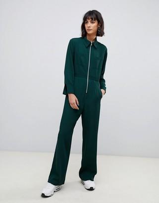 ASOS zip front jumpsuit