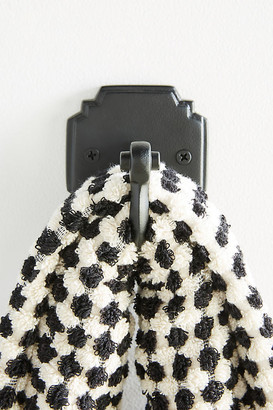 Anthropologie Raina Towel Hook By in Black Size ALL