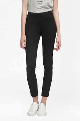 French Connection The Rebound Pull On Denim Leggings