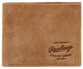 Rawlings Sports Accessories Double Steal Suede Bi-fold Wallet