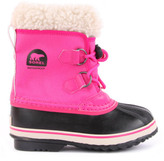 Sorel Fur-Lined Waterproof Nylon Yoot Pac Boots