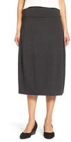 Eileen Fisher Stretch Jersey Lantern Skirt
