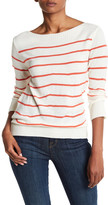 Cupcakes And Cashmere Reynolds Striped Lightweight Sweater