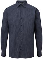 J. Lindeberg Daniel Mini Print Shirt, Power Blue