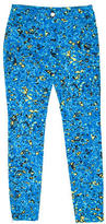 Balenciaga Printed Skinny-Leg Pants
