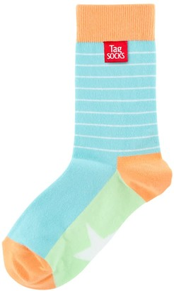 Tag Socks Superstar Lime - A New Sock Experience - Bamboo & Cotton