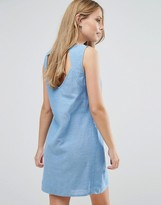 Vila Denim Shift Dress